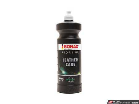 ES#3559817 - 282300 - ProfiLine Leather Care - 1 Liter - Professional grade leather care that protects and restores color and contains UV properties to protect against sunlight fading - SONAX - Audi BMW Volkswagen Mercedes Benz MINI Porsche