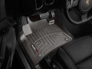 ES#3460533 - 473331 - Front FloorLiner - Cocoa - Porsche Cayenne 2011 - 2015 - WeatherTech - Porsche