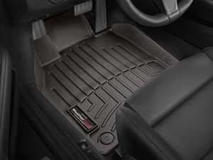 ES#3460570 - 474371 - Front FloorLiner - Cocoa - Porsche 911 (911) 2012 - 2015 - WeatherTech - Porsche