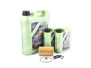 ES#3522434 - n91167901KT3 - Premium Oil Service Kit - Includes Hengst oil filter and Liqui Moly 5w-40 oil with MolyGen technology - Assembled By ECS - Audi