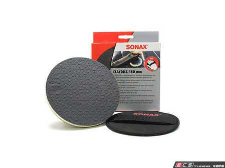ES#3559851 - 450605 - Clay Disc - Removes stubborn dirt, overspray, water spots, tree sap, adhesive residue, and more! - SONAX - Audi BMW Volkswagen Mercedes Benz MINI Porsche