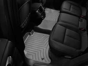 ES#2837666 - 443332 - Rear FloorLiner DigitalFit Mats - black - Laser measured for perfect fitment and ultimate protection against moisture and debris - WeatherTech - Volkswagen Porsche