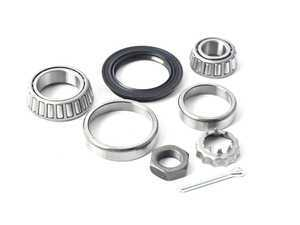 ES#3089285 - 191598625 - Rear Wheel Bearing - Priced Each - Includes all required seals, inner, outer bearings, and hardware for one side - Optimal - Audi Volkswagen