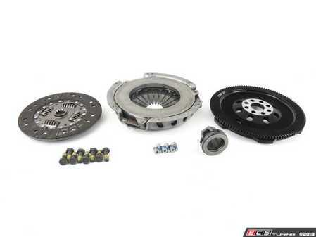 ES#2770848 - 000282ECS01KT -  Performance Flywheel & Sachs Clutch Kit - Improve throttle response, acceleration and clutch feel - the perfect setup for daily-driven vehicles with up to 400lbs-ft of torque - ECS - BMW