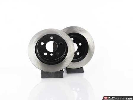 "ES#3559514 - 025997ecs359KT - Rear V4 Brake Rotors - Pair 11.02"" (280x10) - Precision Manufactured And Featuring An Electrostatic Rust-inhibiting Coating - ECS - MINI"