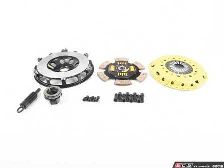 ES#3438020 - BM7-HDG6 - Heavy Duty Sprung 6-Pad Racing Clutch Kit With XACT Prolite Flywheel - Perfect for high performance street and road racing demands. Conservatively rated up to 505 ft/lbs torque capacity. - ACT - BMW
