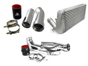 ES#3569818 - BM-FMIC007FA - Evolution Racewerks Competition Series Front Mount Intercooler, Full Kit - N55 Automatic - Replaces you factory intercooler for lower temps and improved airflow. Includes upgraded charge pipes and turbo to intercooler piping. - Evolution Racewerks - BMW