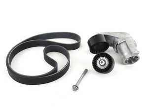 ES#3486401 - 11282457049 - Basic Accessory Belt Service Kit - Includes belt, tensioner and idler pulley - Genuine BMW - BMW