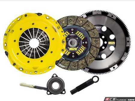 ES#3569298 - VW9-HDSS - Performance Street Clutch Kit - Handles up to 500 lb-ft of torque and includes single mass flywheel (18.8 lbs) - ACT - Volkswagen