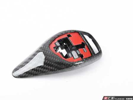 ES#3421007 - BM-0197 - Gear Selector Cover - Carbon Fiber - For vehicles with sport automatic transmission - AUTOTECKNIC - BMW