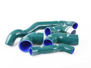 ES#3145866 - TCS382-BRG - Turbo / Intercooler Silicone Hose Kit - British Racing Green ( BRG ) - Set of 5 hose kit to replace your OEM hoses - Samco - MINI