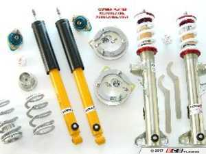 ES#4069944 - TCKZ3DblKit - TC Kline Racing Double Adjustable Street/Track Coilover Kit - Lifetime warranty on street-driven cars! Featuring proprietary double-adjustable Koni dampers, front camber plates, and 400#F/400#R springs - TC Kline Racing - BMW