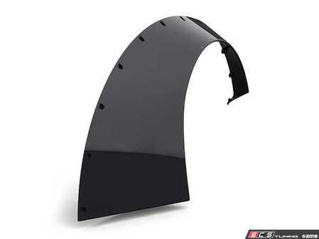"ES#3478682 - Sl12 - 12cm ""Slider"" Universal Fender Flares - Pair - ABS plastic universal fender flares that add 12cm of width per side - Clinched - Audi BMW Volkswagen Mercedes Benz MINI Porsche"