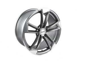 "ES#3569985 - MB10KT - 18"" Style MB10 Wheels - Set Of Four - 18""x8"" ET45 5x112 - Gunmetal/Machined Face - Alzor - Audi Volkswagen"