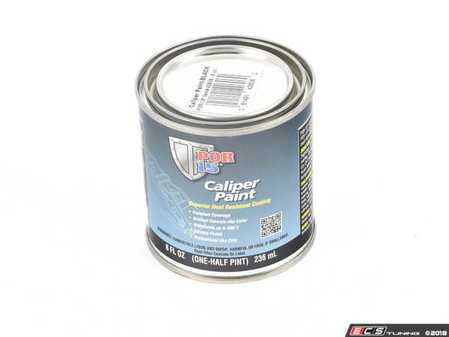 ES#3246061 - POR42606 - Caliper Paint Black - Absolute Coating ( POR15) in 8 oz can