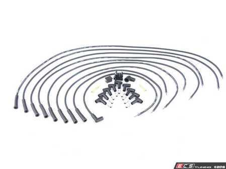 ES#3559441 - 5550 - Street Fire Spark Plug Wire Set - 8mm diameter wire with a kevlar core - MSD Performance - Volkswagen