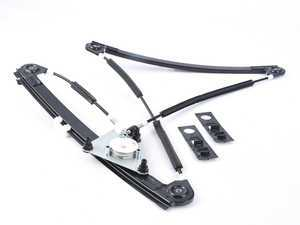 ES#3411425 - 8P4837461C - Front Window Regulator - Left  - Does not include the window motor - Hudson - Audi