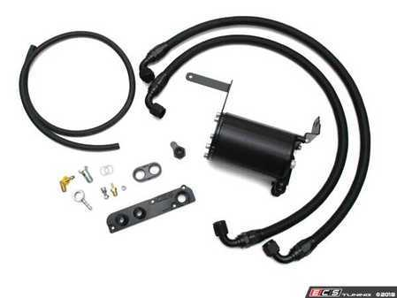 ES#3569961 - 034-101-1013 - 034Motorsport 2.0T FSI Catch Can Kit  - Keep oil and water vapor out of the intake tract - 034Motorsport - Audi