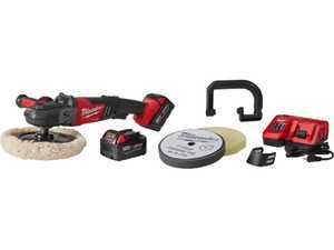 "ES#3138564 - MWK273822P - Milwaukee Cordless 7"" Variable Speed Polisher Kit - Now polish your car anywhere with this cordless professional polisher - Milwaukee - Audi BMW Volkswagen Mercedes Benz MINI Porsche"