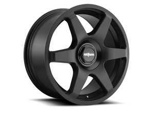 "ES#3570160 - r113198514KT3 - 19"" SIX - Set Of Four - 19""x8.5"", ET35, 5x112/5x100 - Matte Black - Rotiform - Audi Volkswagen"