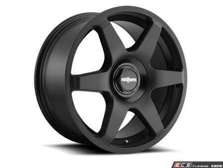 "ES#3570150 - r113188514KT2 - 18"" SIX - Set Of Four - 18""x8.5"", ET45, 5x112, 66.56CB - Matte Black - Rotiform - Audi MINI"