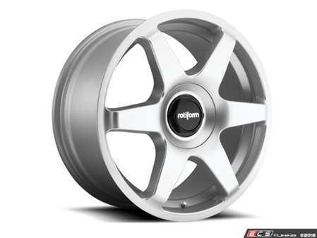 "ES#3570167 - r114198514KT2 - 19"" SIX - Set Of Four - 19""x8.5"", ET45, 5x112, 66.56CB - Gloss Silver - Rotiform - Audi"