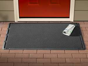 "ES#3461672 - ODM1B - Heavy Duty Outdoor Mat  - Black  - OutdoorMat is the perfect addition to your home or business' exterior entryway. 24"" x 39"" - WeatherTech - Volkswagen"