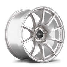 "ES#3570491 - 10ET365130716RS - 18x10"" ET36 Race Silver APEX SM-10 Porsche Wheel - Profile 2; medium concavity - APEX Wheels - Porsche"