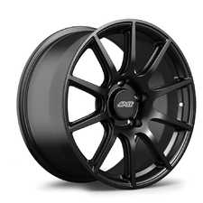 "ES#3570510 - 9ET465130716SMB - 18x9"" ET46 Satin Black APEX SM-10 Porsche Wheel - Profile 1; shallow concavity - APEX Wheels - Porsche"