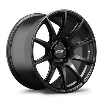 "ES#3570492 - 10ET365130716SMB - 18x10"" ET36 Satin Black APEX SM-10 Porsche Wheel - Profile 2; medium concavity - APEX Wheels - Porsche"