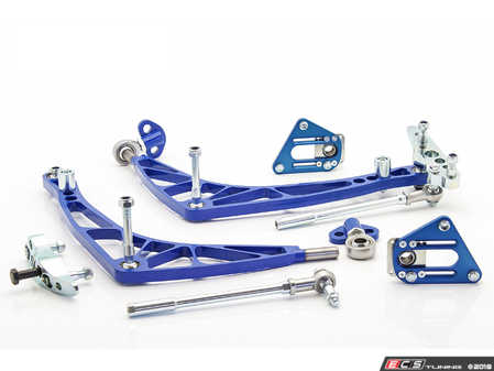 ES#3570334 - WF046MLIGHTFD - FD Lock Kit with Lightweight A-arms - A complete front end solution to get your E46 M3 sideways properly. - Wisefab - BMW