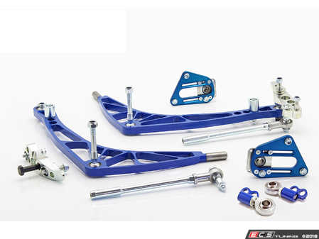 ES#3570320 - WF030LIGHTFD - FD Lock Kit with Lightweight A-arms - A complete front end solution to get your E30 sideways properly. - Wisefab - BMW