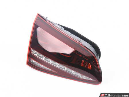 ES#3570450 - 5G0945307DSD - Inner LED Tinted Tail Light - Left - *Scratch And Dent* - *Please see description prior to ordering.* Tinted tail light assembly from the Golf R - Genuine European Volkswagen Audi - Volkswagen