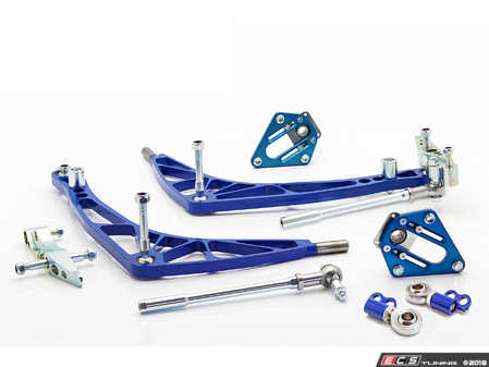 ES#3570323 - WF036LIGHTFD - FD Lock kit with Lightweight A-arms - A complete front end solution to get your E36 sideways properly. - Wisefab - BMW