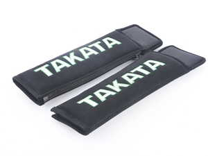 "ES#3505116 - 78008-0 - Takata 3"" Harness and Seat Belt Pads - Black - Pair - Eliminate discomfort caused by your seat belt or racing harness! - Takata - Audi BMW Volkswagen Mercedes Benz MINI Porsche"