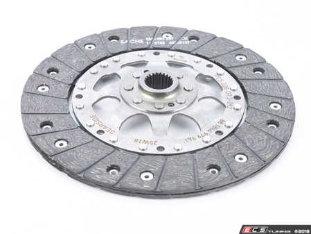 ES#3221356 - 881864999961 - Sachs Performance Clutch Disc - Organic - Full-face rigid clutch disc with organic facings - For higher torque and horsepower applications - SACHS Performance - Audi
