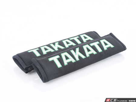 "ES#3505120 - 78011-0 - Takata 2"" Harness and Seat Belt Pads - Black - Pair - Eliminate discomfort caused by your seat belt or racing harness! - Takata - Audi BMW Volkswagen Mercedes Benz MINI Porsche"