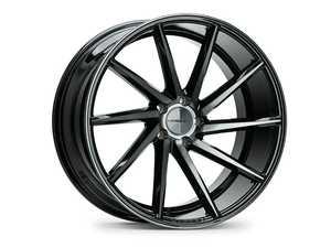 "ES#3576000 - cvt-0m02-tgbKT1 - 20"" CVT - Set Of Four - 20x9 ET25 5x112 - Tinted Gloss Black - Vossen - Audi Volkswagen"