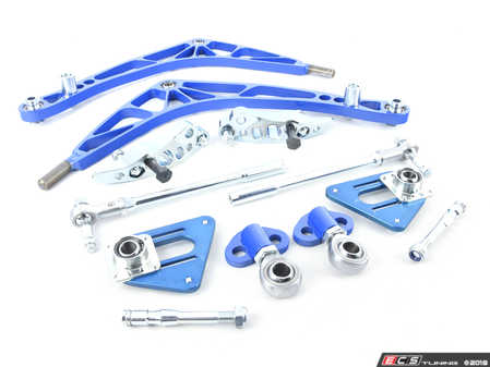 ES#3570333 - WF046LIGHTFD - FD Lock Kit with Lightweight A-arms - A complete front end solution to get your E46 sideways properly. - Wisefab - BMW