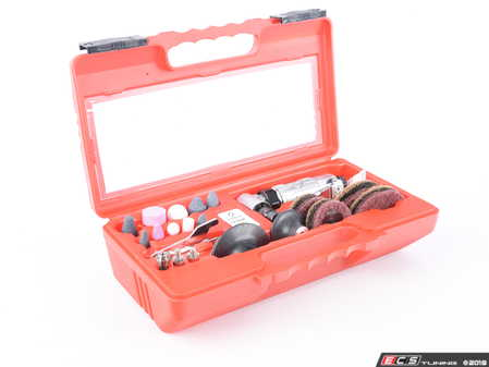 """ES#3128931 - SX264KD - 1/4"""" Shank Mini Right Angle Die Grinder Kit - Just add air, everything you need to clean, grind and sand in one kit. Remove old gaskets in a hurry - Sunex - Audi BMW Volkswagen Mercedes Benz MINI Porsche"""