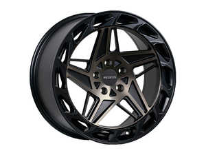 "ES#3576695 - r3518855112md1KT - 18"" R35 Wheels - Set Of Four - 18""x8.5"" ET40 5x112 - Matte Double Black - Regen5 - Audi Volkswagen"