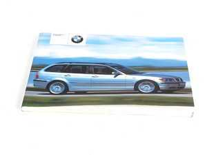 ES#12940 - 01410156156 - 2002 E46 Touring Owner's Handbook - Proves crucial operation, ownership, and maintenance information - Genuine BMW - BMW