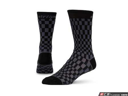 ES#3579105 - BLKPASHA - Pasha - Black/Charcoal - Ditch those crew-lengths and gold-toes and modify that sock drawer the right way. - Striipe - Audi BMW Volkswagen Mercedes Benz MINI Porsche