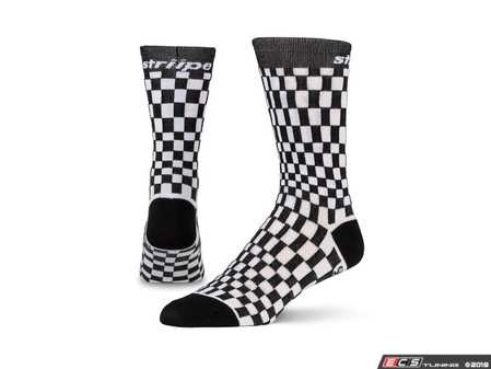 ES#3579106 - WHTPASHA - Pasha - White/Black - Ditch those crew-lengths and gold-toes and modify that sock drawer the right way. - Striipe - Audi BMW Volkswagen Mercedes Benz MINI Porsche