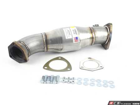 ES#3077419 - 2988414 - High-Flow Catalytic Converter - Aluminized Steel stock fit 200 cell High-Flow Cat - 42 Draft Designs - Audi Volkswagen