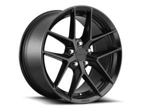 "ES#3604815 - r134198543+45KT1 - 19"" FLG - Set Of Four - 19x8.5, 5x112, ET45 - Matte Black - Rotiform - Audi Volkswagen"