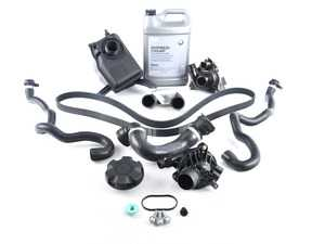 ES#3552917 - 171375429l2ecKT - ECS Cooling System Refresh Kit - Level 2 - A more advanced refresh kit - with primary cooling system hoses and accessory belt. - Assembled By ECS - BMW