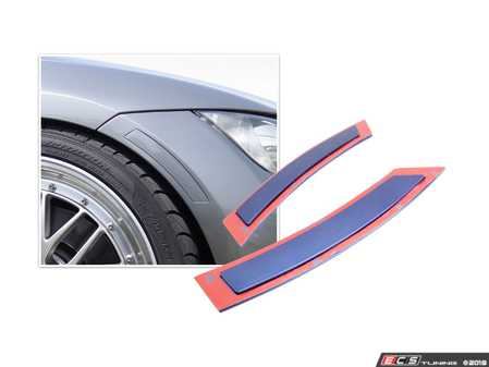 ES#3579653 - PREFLE90L - Paint Matched E90 Side Reflectors - Replace those ugly amber reflectors on the front bumper of your BMW vehicle with painted reflectors by Bimmian. - Bimmian PaintWerke - BMW
