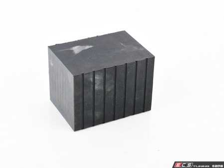 """ES#3509591 - 5300865 - Tall Rubber Contact Block - Priced Each - 3"""" tall rubber block used to increase jack point accessibility - QuickJack - Audi BMW Volkswagen Mercedes Benz MINI Porsche"""