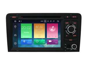 """ES#3579710 - 022619BRP04 - 7"""" Android DVD Multimedia System - Features an 8-core processor running Android 8.0 making it one powerful plug and play radio upgrade! - Bremmen Parts - Audi"""